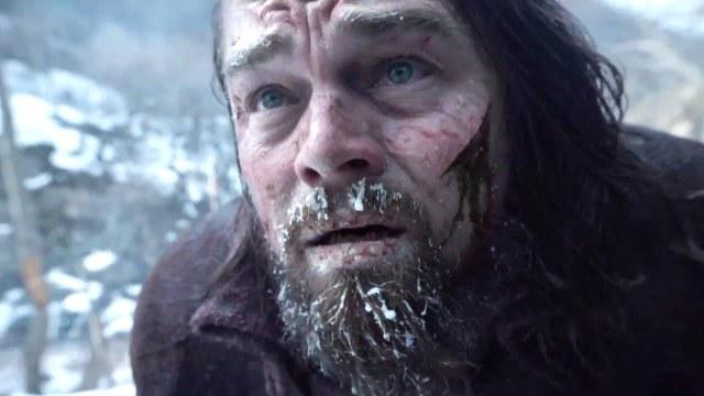 """Leonardo DiCaprio em cena de """"O Regresso"""""""