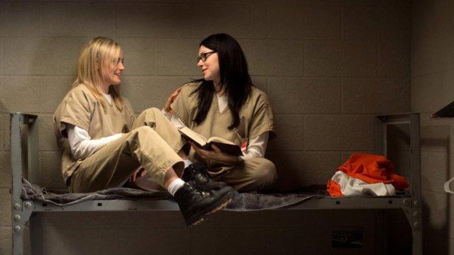 Piper e Alex em Litchfield - relacáo de amor e ódio