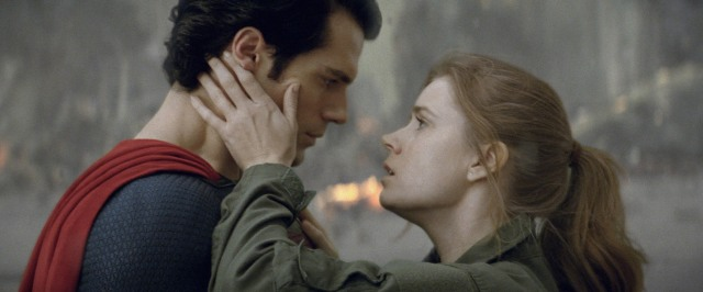 Henry Cavill e Amy Adams no papel de Superman e Lois Lane : Casal fofo!